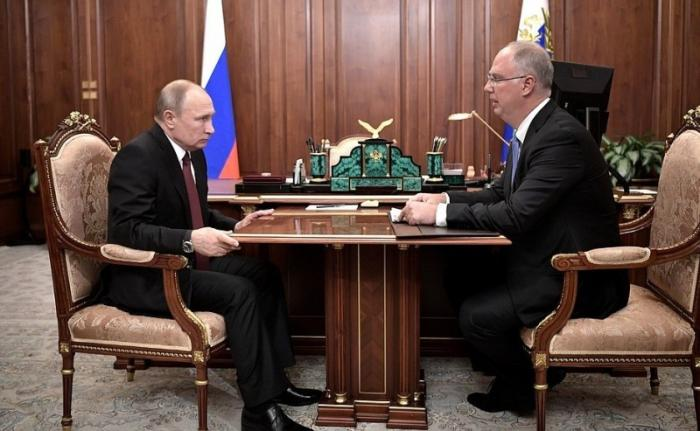 Встреча Владимира Путина сгенеральным директором РФПИ Кириллом Дмитриевым
