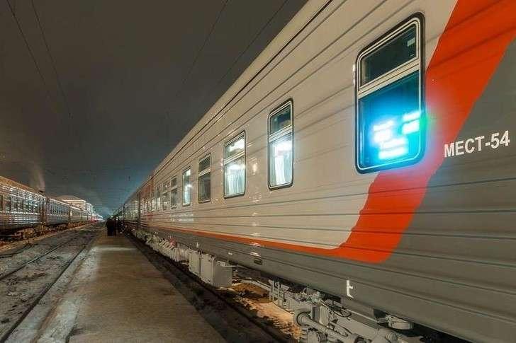 Холдинг РЖД получил первый плацкартный вагон собновленным интерьером
