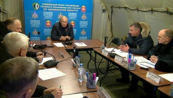 Владимир Путин в Магнитогорске поручил создать правительственную комиссию на месте трагедии