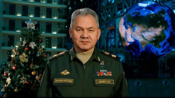 Министр Обороны РФ Сергей Шойгу поздравил военнослужащих и ветеранов сНовым 2019 годом