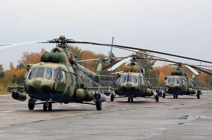 Новые МИ-8 дляМО РФ