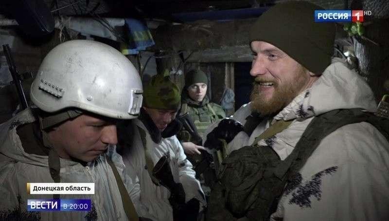 В окопах Донбасса: тишина может