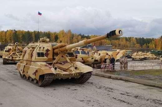 Российская армия досрочно получила 108 самоходных гаубиц