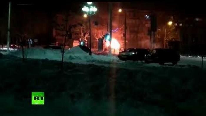 Очевидец прокомментировал взрыв маршрутки в Магнитогорске и «жестокий бой»