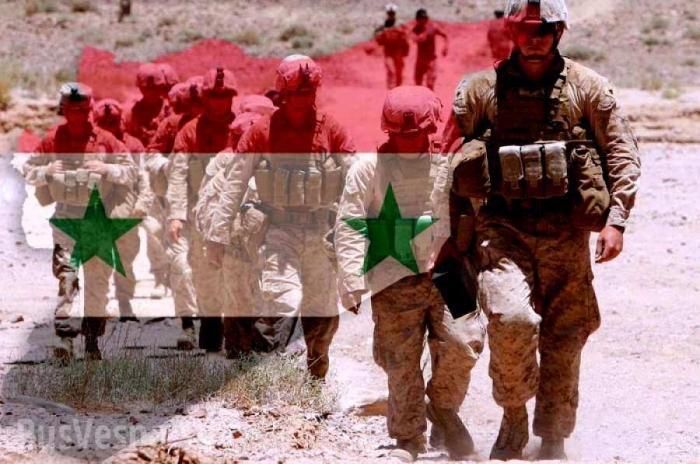 Военные США прибыли к солдатам Сирии с идиотским требованием