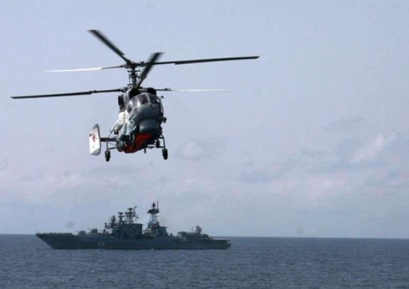 Российские военные корабли перехватили в Чёрном море украинское судно с комплексом