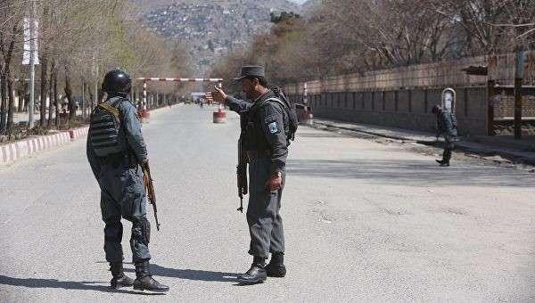 Полиция патрулирует улицы в Кабуле. Архивное фото