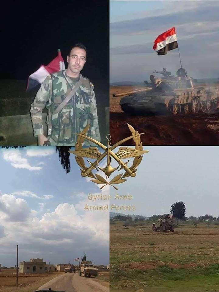В Сирии под Манбиджем американцы получили отпор от сирийской армии