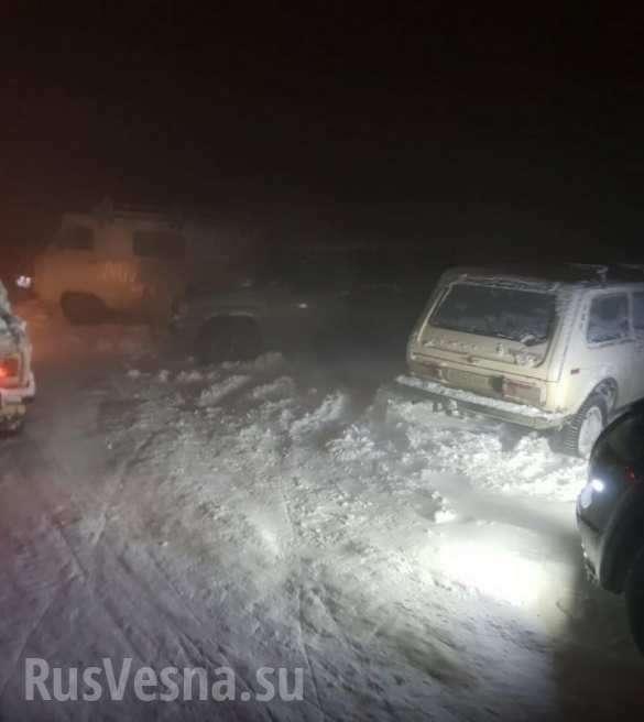 Крым: более сотни автомобилей заблокированы наплато Ай-Петри после схода лавины (ФОТО, ВИДЕО) | Русская весна