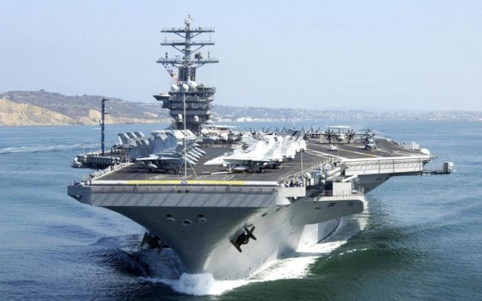 Китайский адмирал: уничтожение двух авианосцев США значительно снизит напряжённость