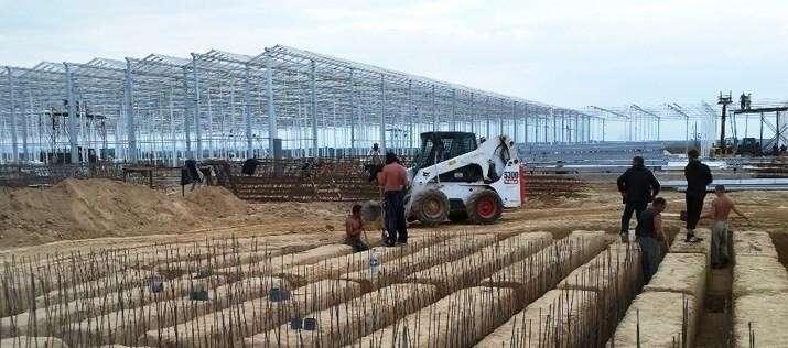 Итоги 2018 года: строительство новых тепличных комплексов в России