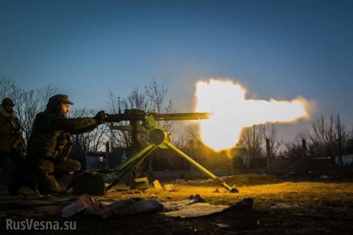 Сводка о ситуации на Донбассе: украинские боевики постреляли друг друга под Авдеевкой