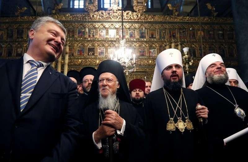 Варфоломей придумал новое название для украинской церкви и подмял её под себя