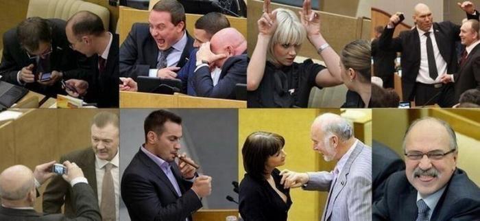 Госдума РФ – кукольный театр для взрослых