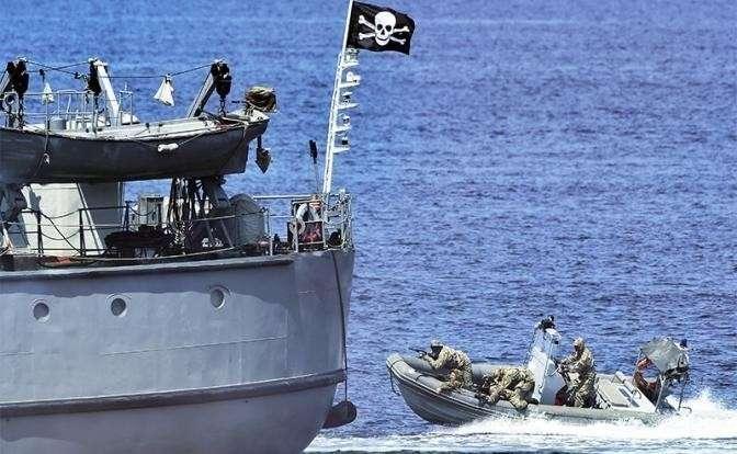 Сомалийский Пират русскому ВМФ не брат – расстрелять разбойников