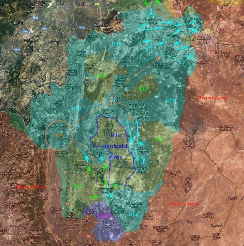 Сирия. Ситуация в северной части: перспективы у США, Турции и России