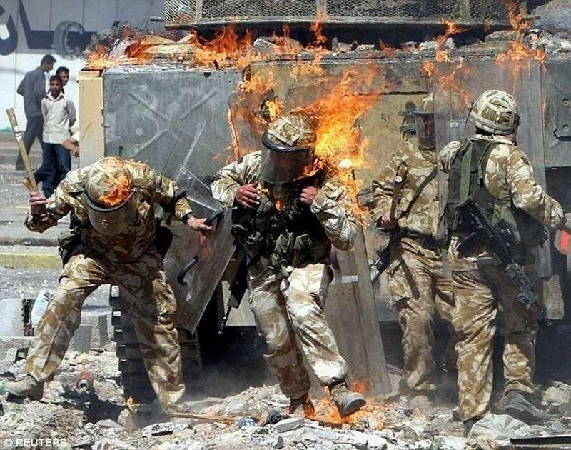 В Сирии расстреляли английский спецназ САС