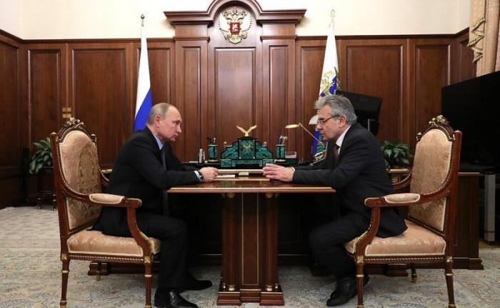 Александр Сергеев рассказал Владимиру Путину о реализации новых полномочий РАН