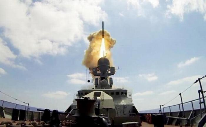 Новая российская ракета «Калибр-М» добьет из Каспия до Лондона