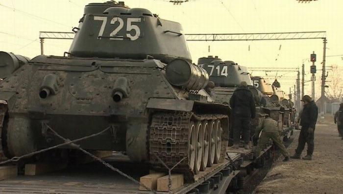30 танков Т-34 из Лаоса переправят в Подмосковье