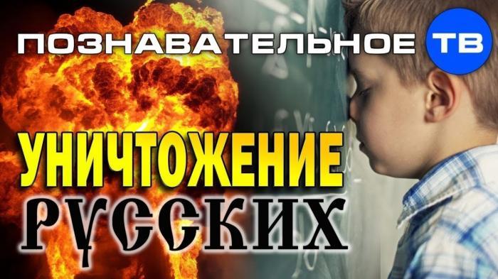 Геноцид русских посредством школьного образования. Илья Михнюк