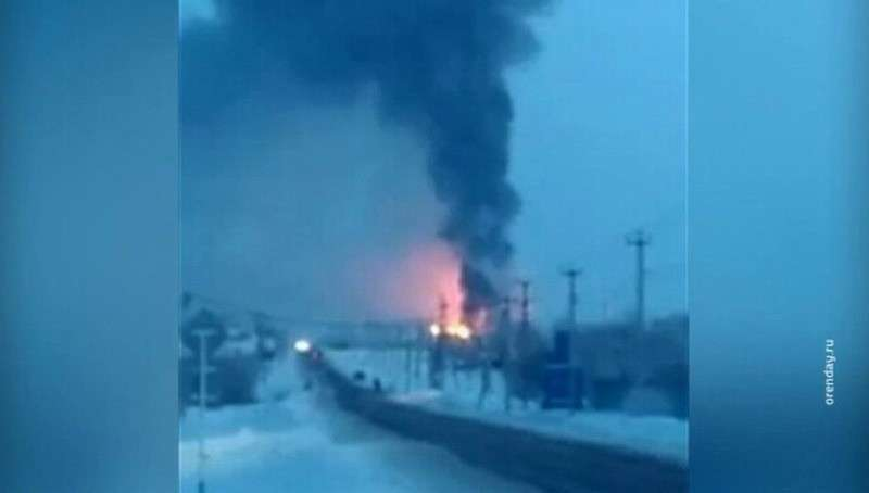Крупный пожар на Оренбургском цинковом заводе в Покровке: жителей подготовили к эвакуации
