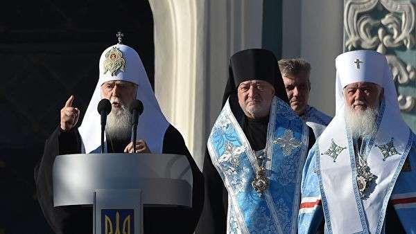 Предстоятель неканонической церковной структуры Украины Филарет Денисенко