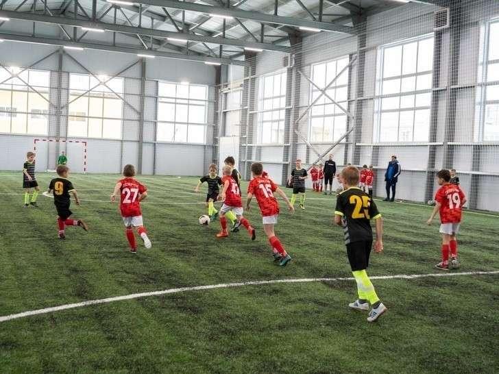 ВКурской области открылся футбольный манеж «Альтаир-арена»