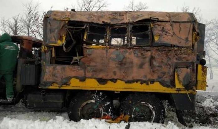 ДНР. Украинские каратели открыли огонь посотрудникам «Воды Донбасса»