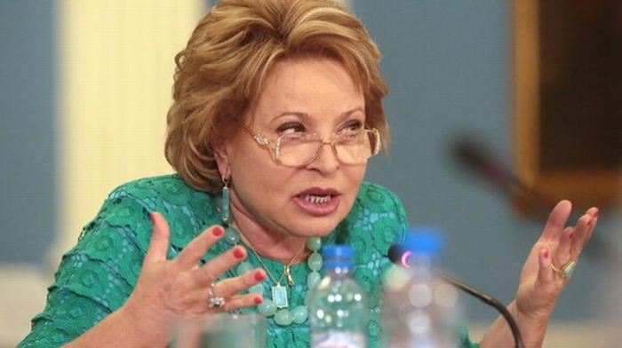 Валентина Матвиенко готова штрафовать тех, кто её не уважает