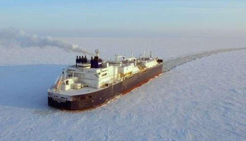 Новейшие суда для «Ямал СПГ» впервые проходят Северный морской путь без ледоколов