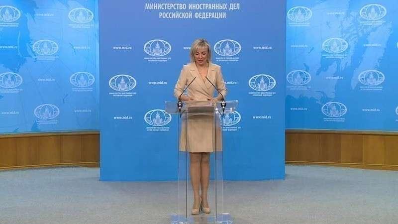 Мария Захарова провела еженедельный брифинг МИД России 11.01.2019