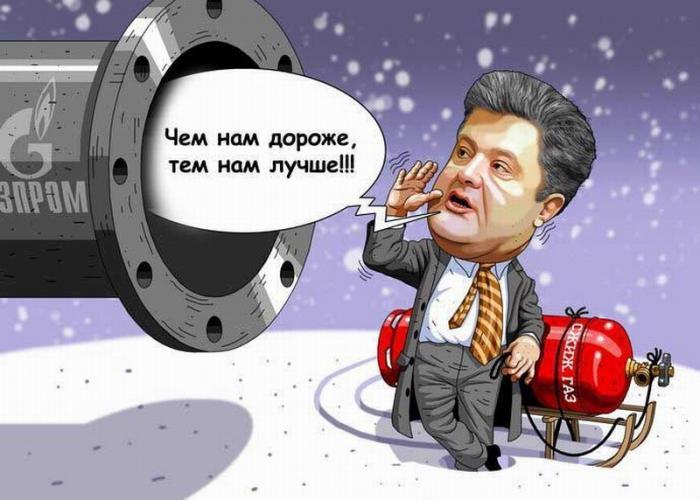 На Украине раскрыли главную газовую тайну Порошенко о реверсе российского газа из Европы