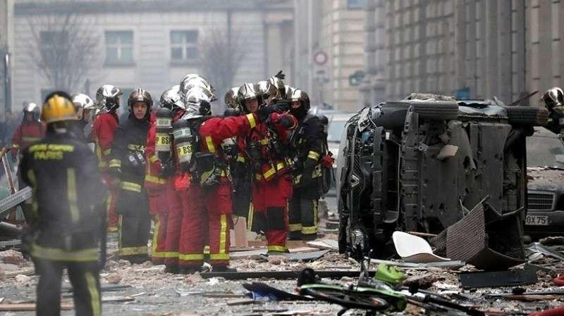 Взрыв в Париже. Прямая трансляция