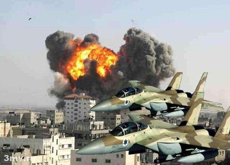 Израиль нанёс по Сирии новый удар