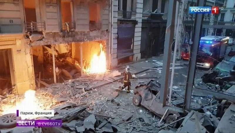 Очевидица рассказала о взрыве в Париже: как будто война