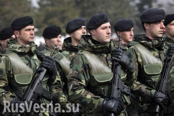 США создают в Сербии армию боевиков с боевыми вертолётами и бронетехникой | Русская весна