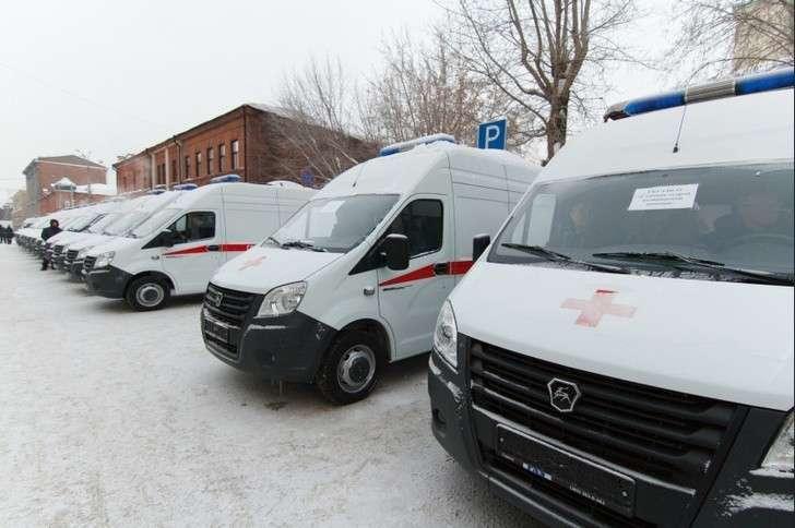 ВНовосибирскую область поступили 24 новых автомобиля скорой медицинской помощи