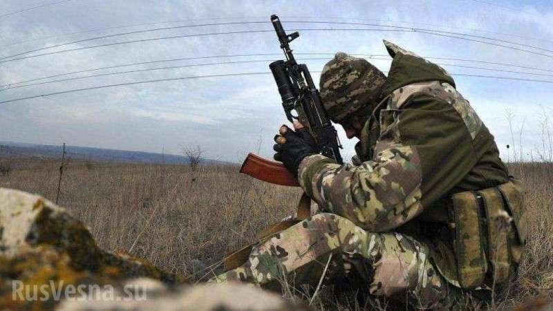 Сводка о ситуации на Донбассе: десантные штурмовики ВСУ перестреляли друг друга