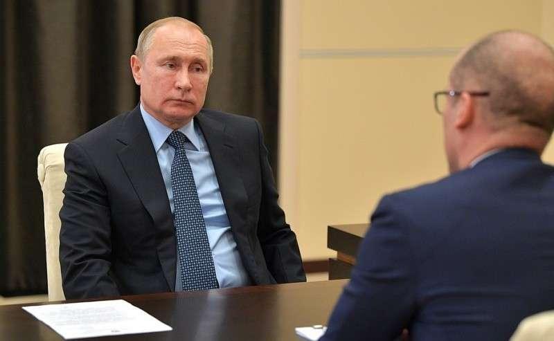 Рабочая встреча сглавой Удмуртской Республики Александром Бречаловым.