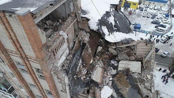 Взрыве в Шахтах. Число жертв увеличилось до двух человек