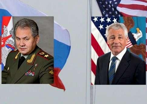 Министр обороны РФ Сергей Шойгу поговорил по телефону с главой Пентагона Чаком Хейгелом