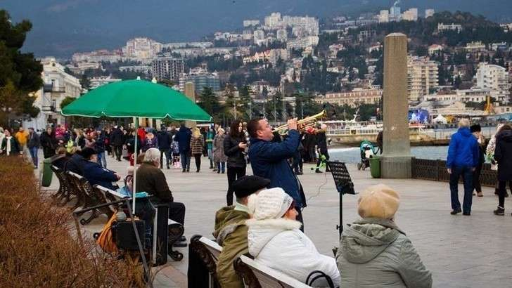 Крым наНовый год принял рекордное число туристов