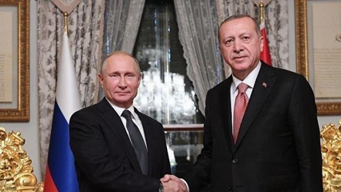 В Турции назвали тему будущих переговоров Путина и Эрдогана 23 января