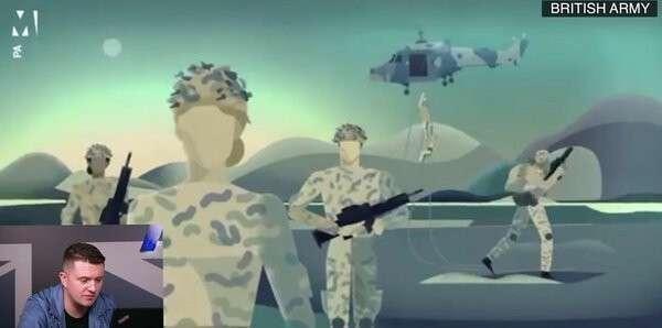 Томми Робинсон сравнил призывные ролики армий Британии, Китая и России