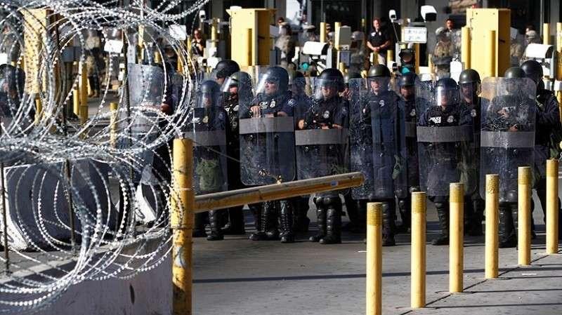 Гражданская война в США. Возможно ли построить «стену Трампа» за счёт средств армии?