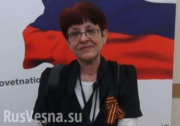 Елену Бойко – львовянку-антифашистку выдворяют из России на Украину | Русская весна