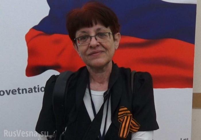 Елену Бойко – львовянку-антифашистку выдворяют из России на Украину