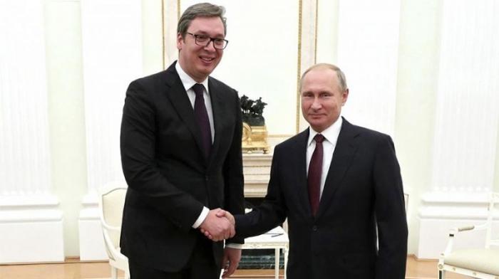 Президент Сербии Вучич рассказал о консультациях с Владимиром Путиным