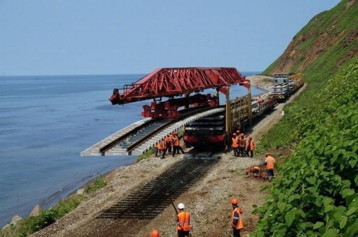 Сахалин завершает переход нароссийский железнодорожный стандарт